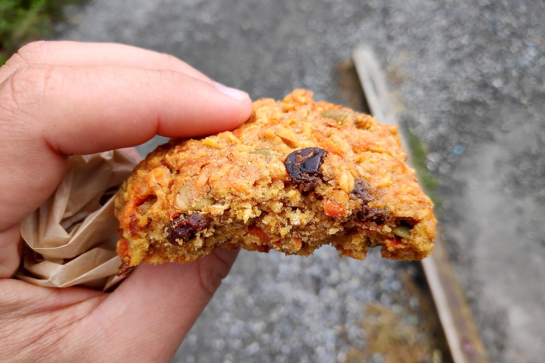 Cookie au raison de True Grain à Cowichan Bay