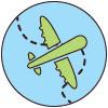 Les frontières aériennes en tour du monde