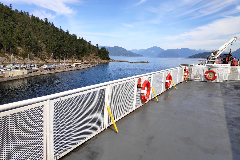 Pont d'un BC ferry