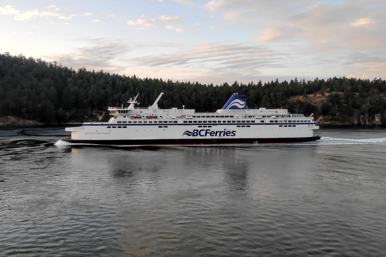 Croisement d'un BC Ferry