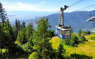 Téléphérique montant Grouse Mountain