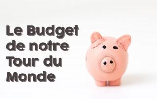 Budget d'un tour du monde d'une année