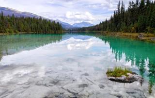 Five Lakes Trail dans le parc national de Jasper