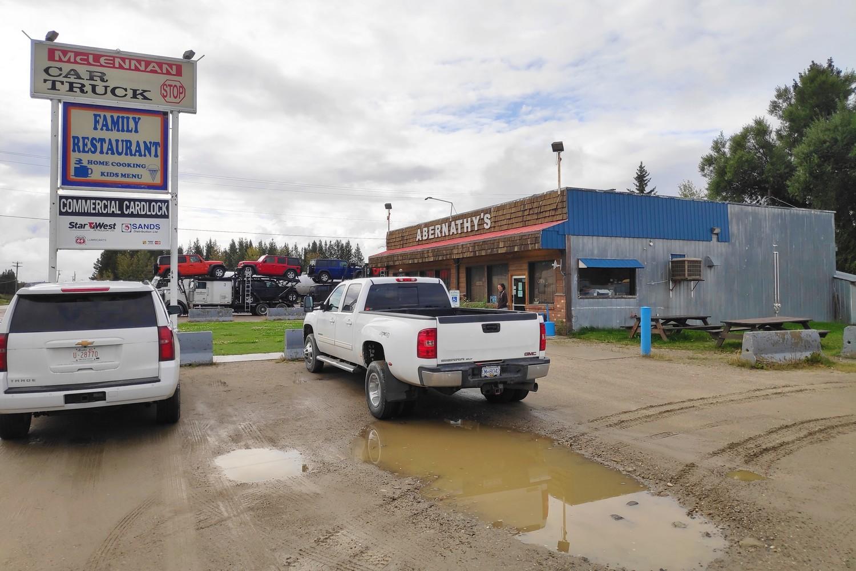 McLennan car truck stop